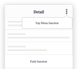 Functions Screen