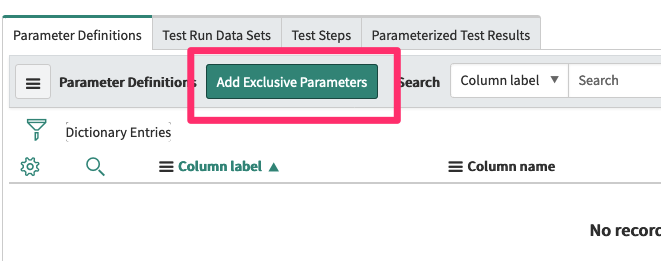 Add Exclusive Parameter