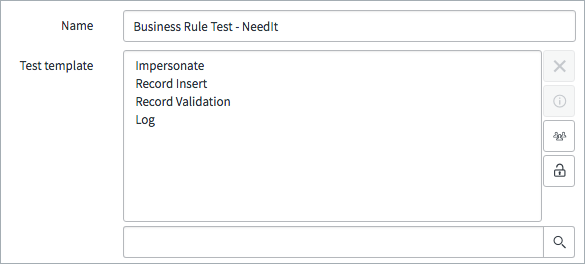 Exercise create a test template servicenow developers there are five steps in the template fbccfo Gallery