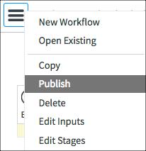 Publishing Workflows