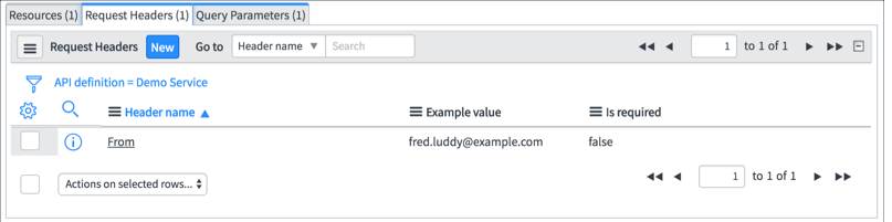Resource Script - RESTAPIRequest | ServiceNow Developers
