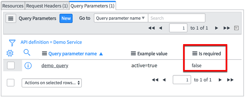Request Headers and Query Parameters