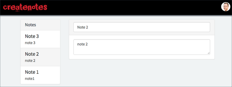 The Notes List and Notes Body widgets work together.