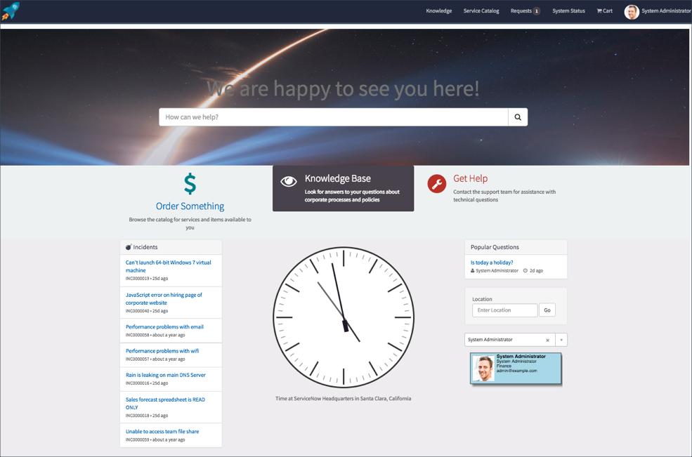 service portal introduction objectives servicenow developers