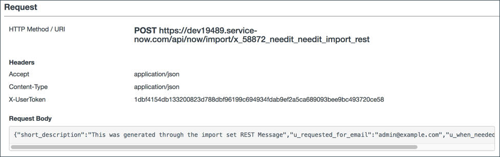 Exercise: Create a Web Service Import Set | ServiceNow Developers
