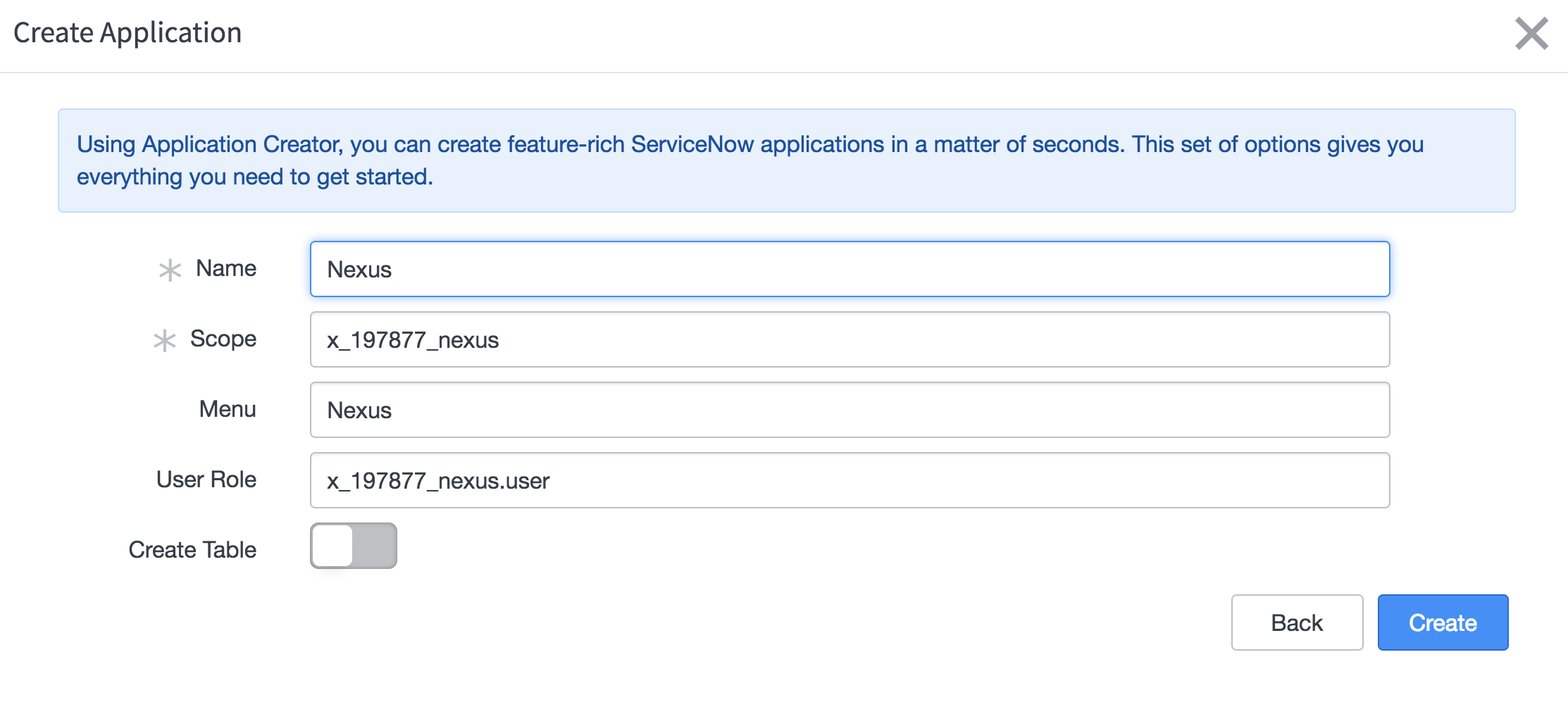 Create the Controller App | ServiceNow Developers