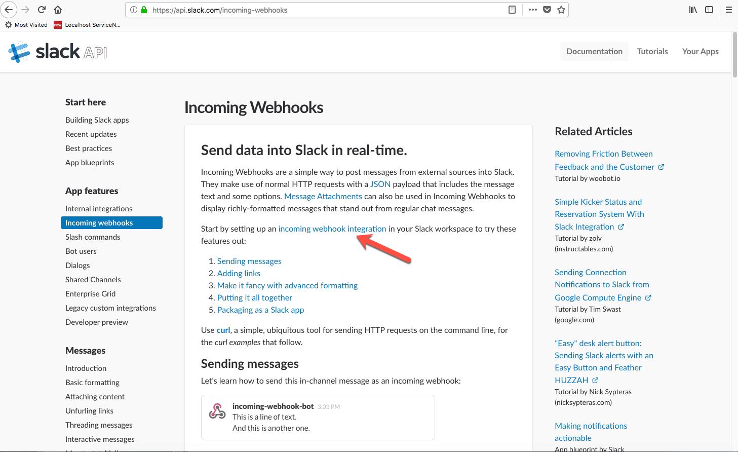 Slack preparations | ServiceNow Developers
