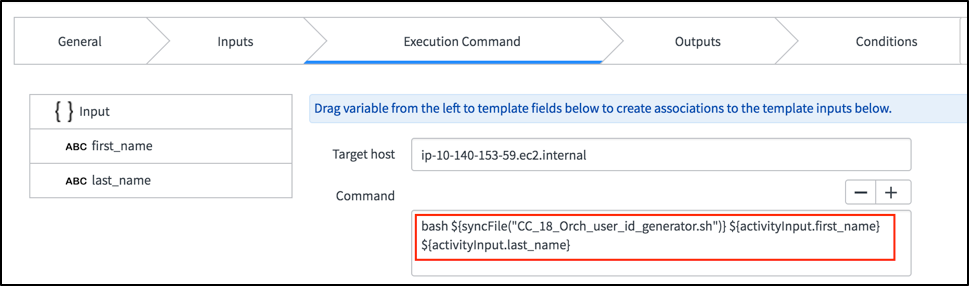 SSH Activity and SyncFile | ServiceNow Developers
