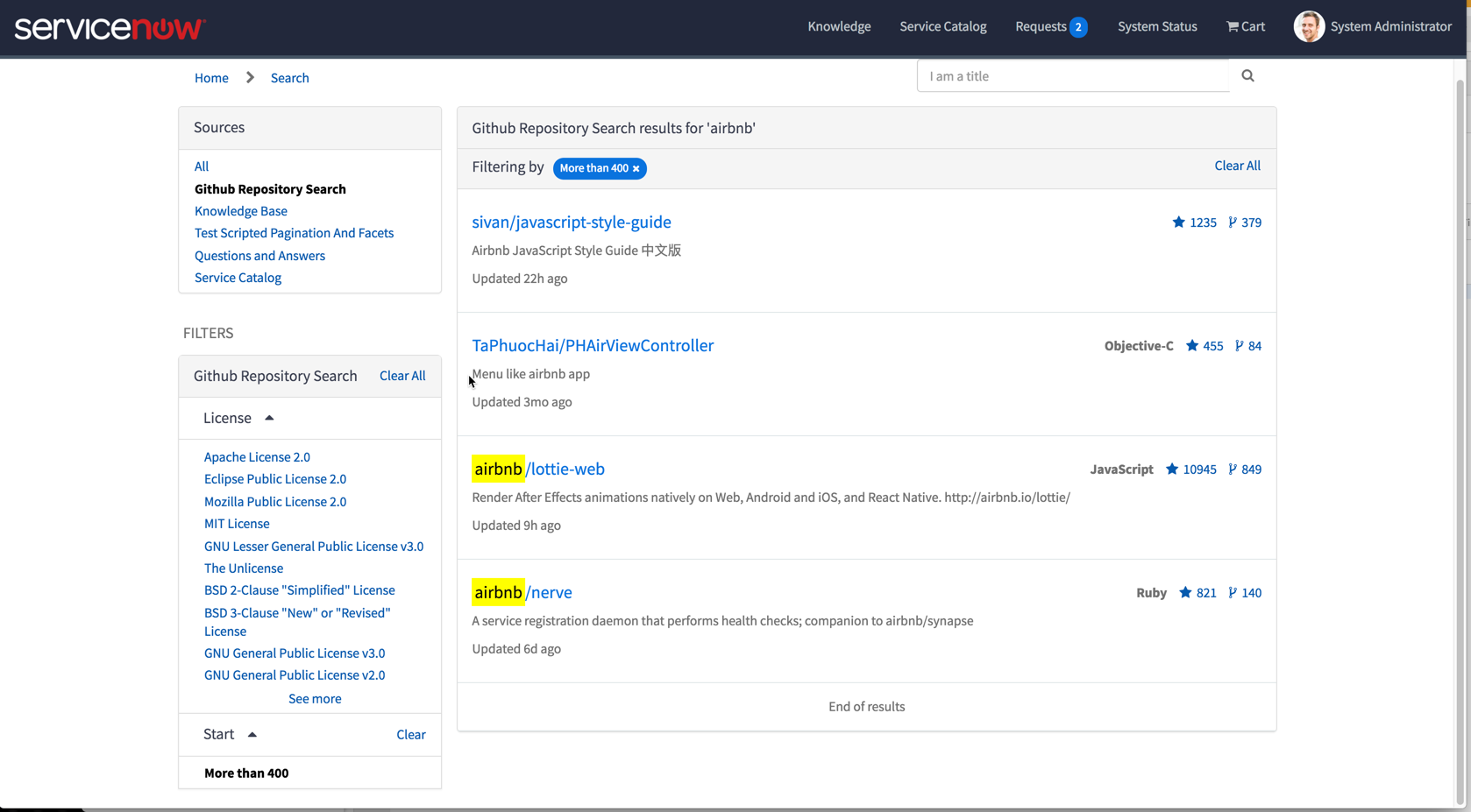 Lab 4 - Search Facet London Preview | ServiceNow Developers