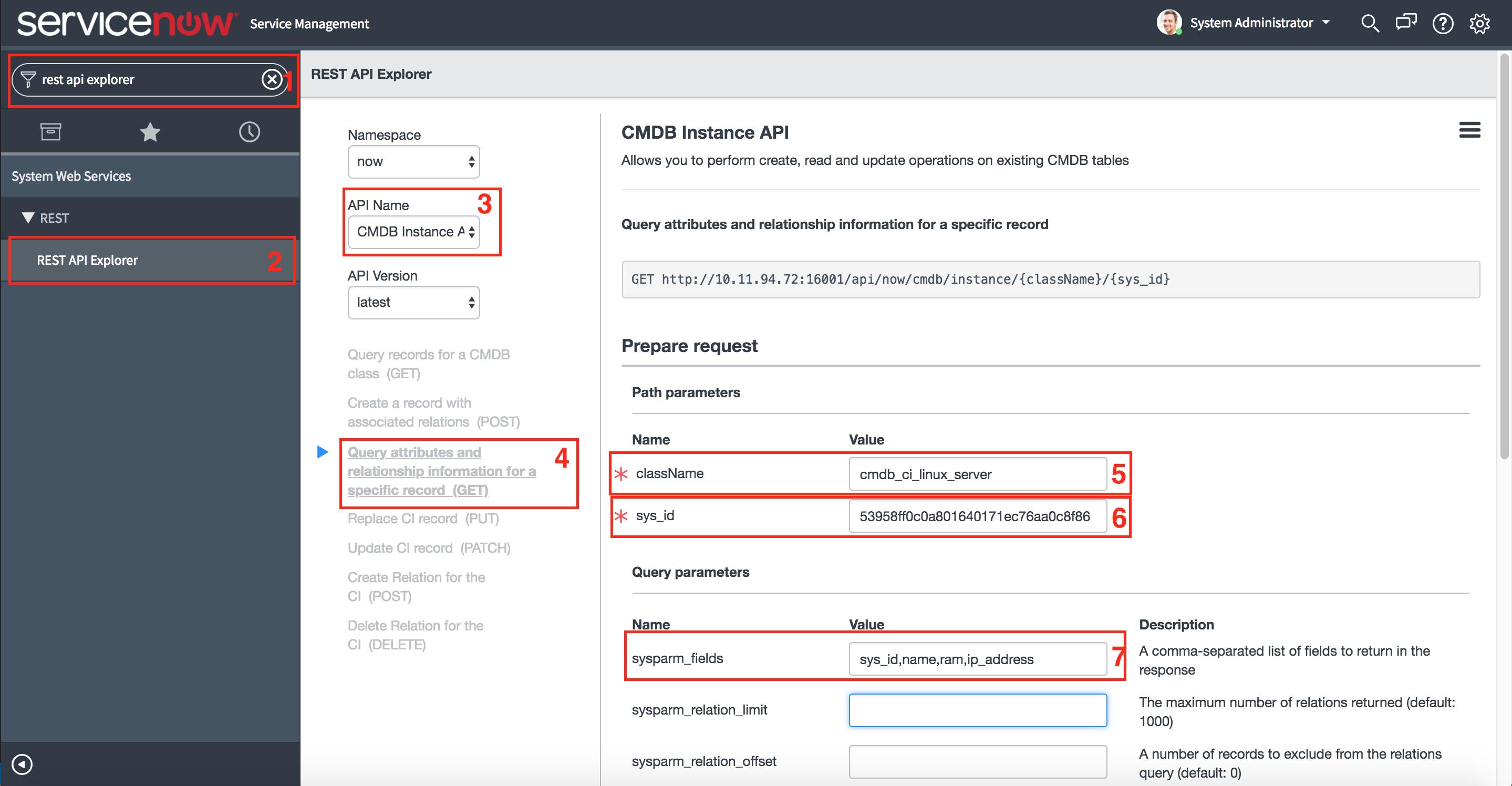 Lab 2 1 - Retrieve Linux CI Details | ServiceNow Developers