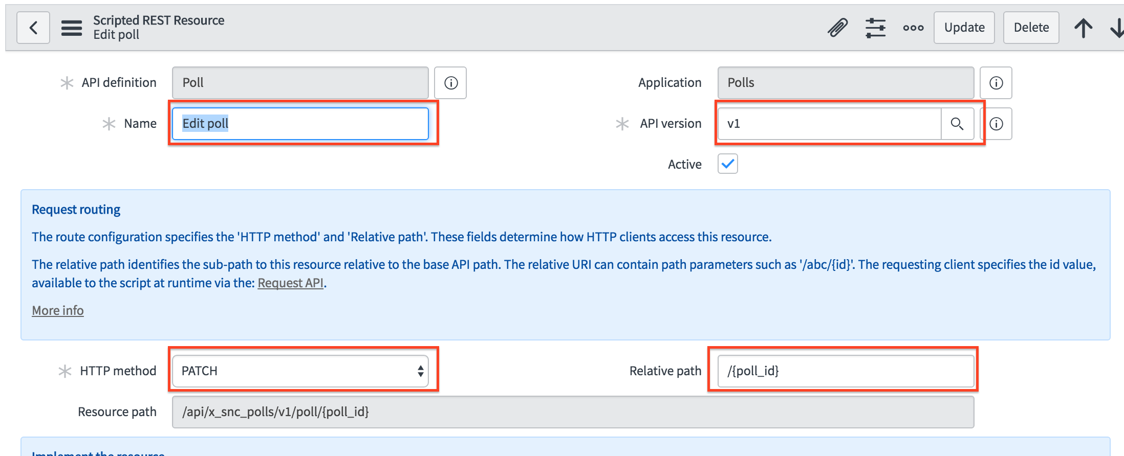 Section 3: Request & Response API   ServiceNow Developers