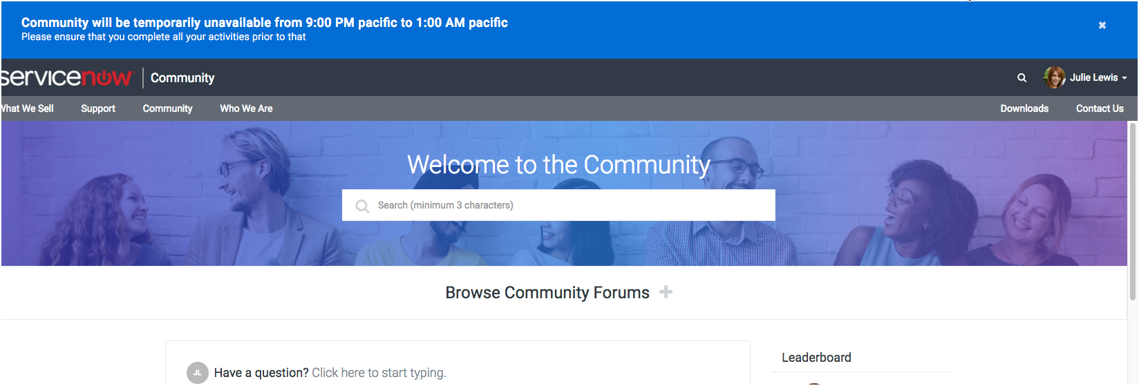 Communities: Asking Questions & Forum Subscription | ServiceNow